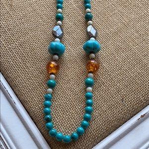 Jewelry - Blue Howelite Necklace